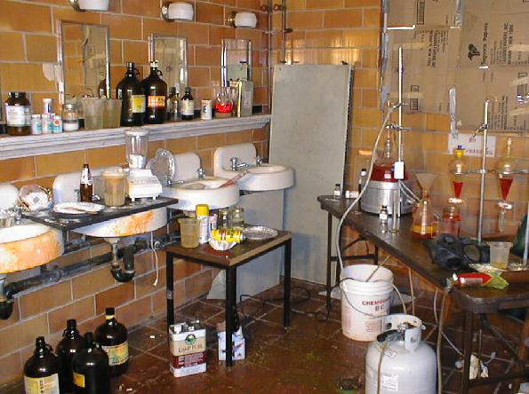 Methamphetamine Lab