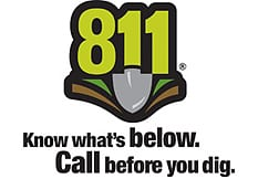 Know before you dig 811