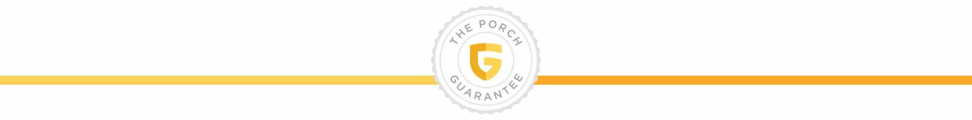 Porch Guarantee Seal
