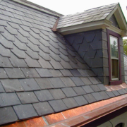 Dark Grey Slate Roof