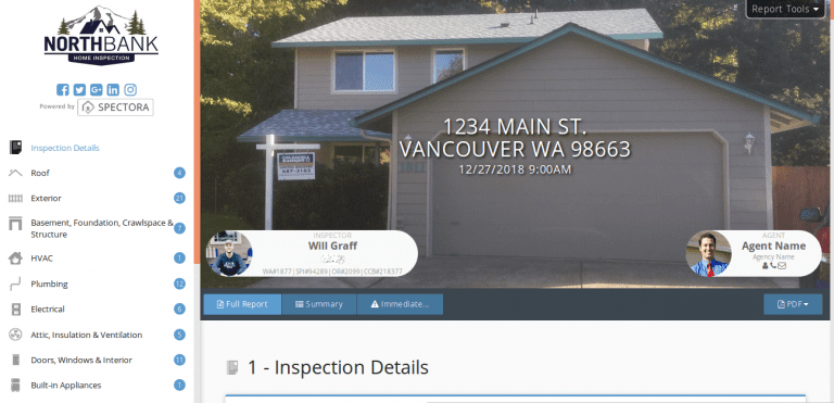 Home inspection vancouver wa